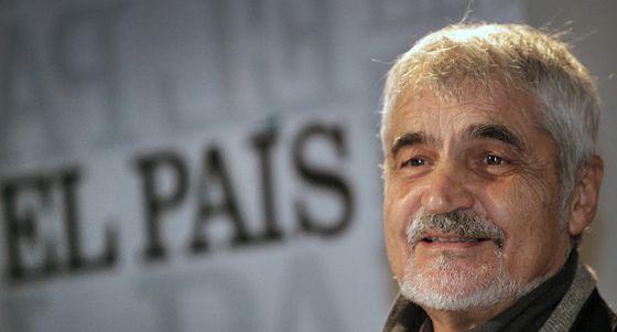 Serge Latouche, este lunes, en la Nau de la Universitat de València.