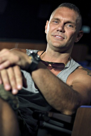El actor porno Nacho Vidal.
