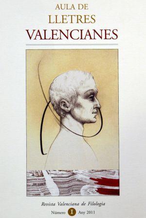 Número 1 de la revista 'Aula de Lletres Valencianes'.