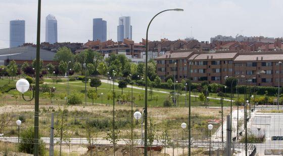 Una de las urbanizaciones de Arroyofresno.