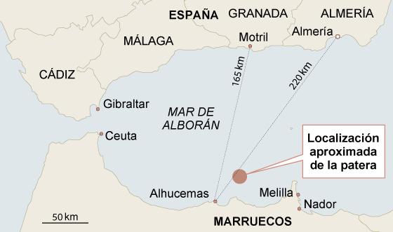 Salvamento Marítimo recupera 14 cadáveres de una zódiac naufragada
