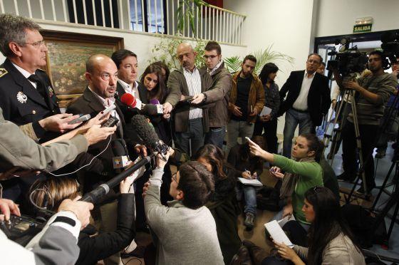 El vicealcalde, Miguel Ángel Villanueva, comparece hoy ante los medios para explicar la tragedia del Madrid Arena.