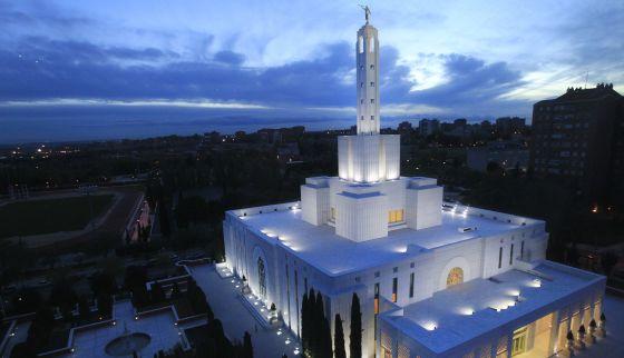 Iglesia mormona en Madrid.