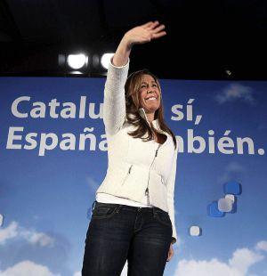 Alicia Sánchez-Camacho, en Castelldefels