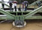 Desalojos y cortes de agua y carreteras por el paso del nuevo temporal