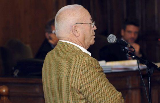 Luis Falcón Pérez durante el juicio