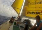 El 'Pakea Bizkaia' surca el Atlántico