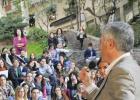 Docentes de la Complutense protestan con 70 clases en la calle