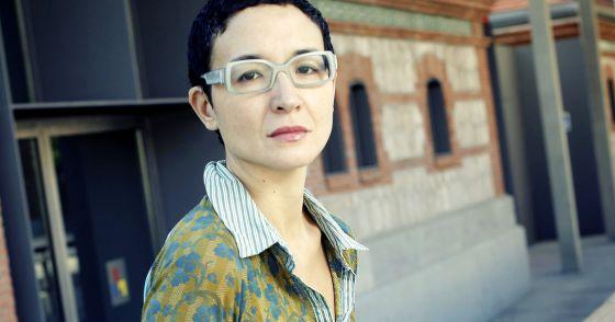 Yoko Taira en las instalaciones de Matadero.