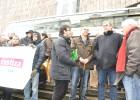 El juez que denunció al líder de A Mesa pide 15.000 euros por injurias