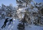 Esquí 'low cost' bajo la luna
