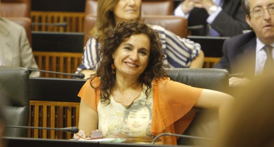 La consejera de Salud, María Jesús Montero.