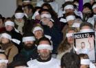 Manifestación por el indulto al extoxicómano condenado a 7 años