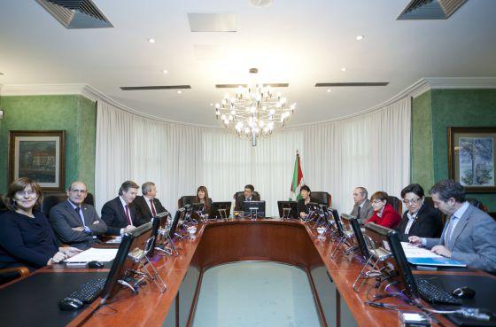 El Consejo de Gobierno, en su última reunión esta mañana antes del relevo en el Ejecutivo.