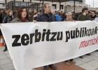 Empleados públicos se movilizan contra la suspensión de su paga
