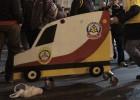 Policías, bomberos y sanitarios protestan en Cibeles