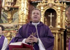 Iceta inaugura el restaurado retablo barroco de la iglesia de Pobeña