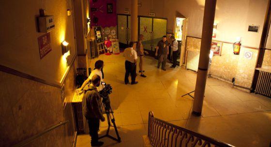Un momento del rodaje del documental 'Paradiso'.