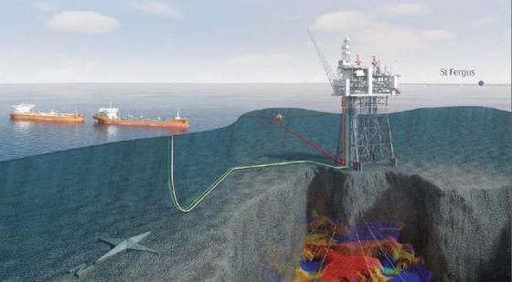 Recreación publicada en la web de Dragados sobre el contrato con Statoil.