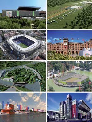 Otras sedes de Madrid 2020.