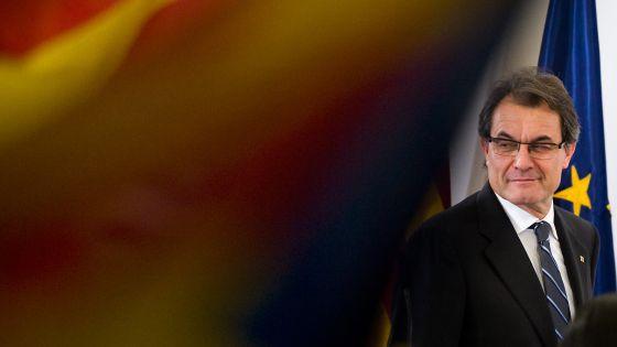 Artur Mas, el pasado 25 de noviembre tras las elecciones catalanas.