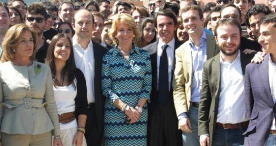 Encuentro de Nuevas Generaciones en Torrejón en 2011.
