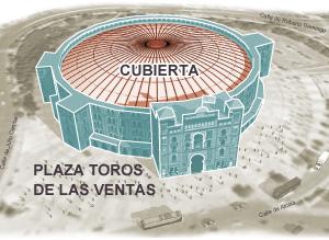 Paralizado el proyecto de cubrir Las Ventas tras desplomarse la estructura