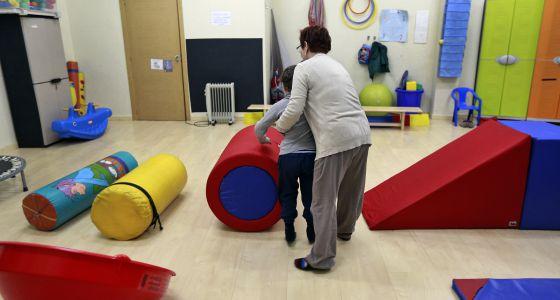 Centro de atención a niños con trastornos autistas en Valencia.