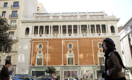 El Palacio de la Música, en febrero de 2012.