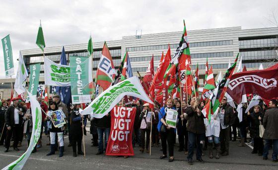 Gobierno y sindicatos no acercan posturas en la mesa de la for Mesa funcion publica