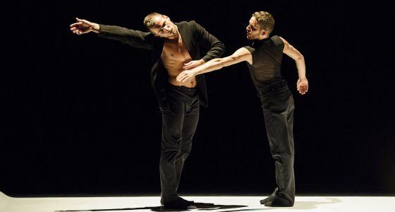 Momento de 'Descamino de dos', a cargo de la Compañía Nacional de Danza.