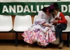 Un festival folclórico cierra en Llíria el día de Andalucía