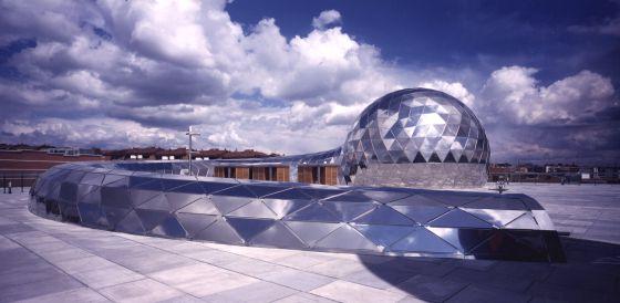 Cúpula del museo Cosmocaixa, en Alcobendas.