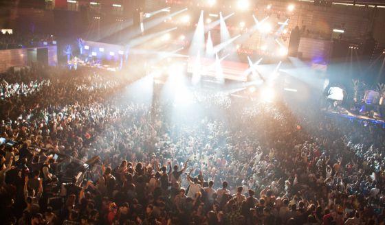 Fiesta de Halloween en el Madrid Arena, que provocó la muerte de cinco jóvenes.