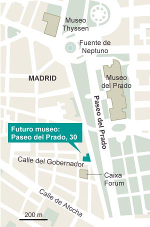 Ambasz celebra la arquitectura con un nuevo museo frente al Prado