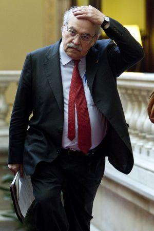 Andeu Mas-Colell, consejero de Economía de la Generalitat.