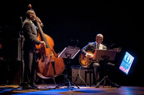 Ron Carter en su actuación del domingo en Santiago de Compostela.