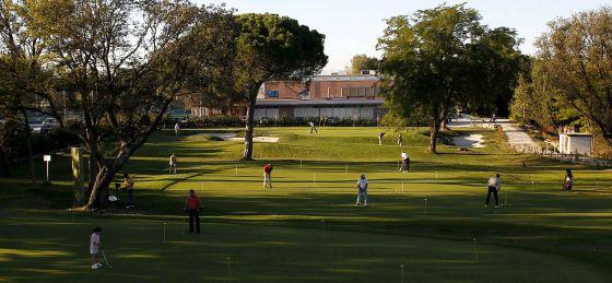 Instalaciones del Club de Campo Villa de Madrid.