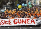 Miles de personas apoyan a los ocho condenados de Segi