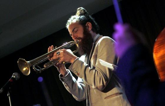 El trompetista Avishai Cohen, en concierto.