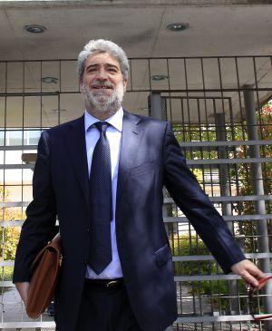 El exportavoz del Gobierno Miguel Ángel Rodríguez en 2011, tras declarar por una querella del doctor Montes.