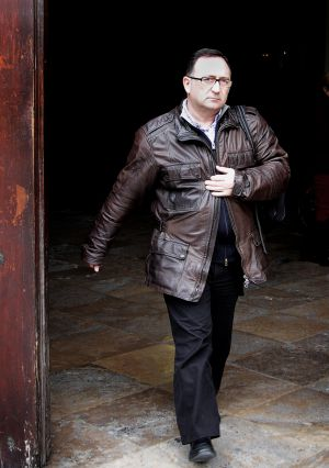 Marc Llinares, tras declarar el pasado marzo en el TSJ valenciano.