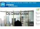 Anonymous hackea la web del PP de Pontevedra por los desahucios