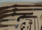 Hallada una bolsa con media docena de armas de fuego en Algete