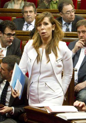 Alicia Sánchez-Camacho en el Parlament, en una imagen de archivo.
