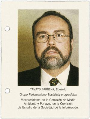 La ficha de Eduardo Tamayo de la Asamblea.