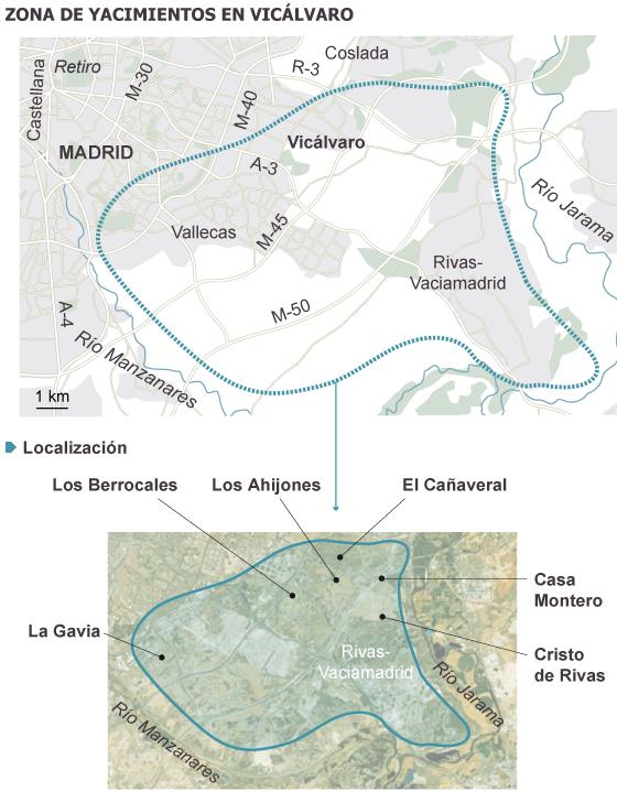 [ARQUEOLOGÍA] Hallado un taller paleolítico de más de 200.000 años en Vicálvaro 1371756656_033167_1371758694_sumario_normal