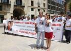 Protesta en Alicante para pedir el tercer grado para un preso