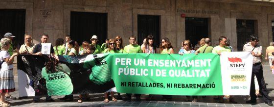 Interinos sin opci n a plaza escolar el pr ximo for Curso mantenimiento de piscinas comunidad valenciana