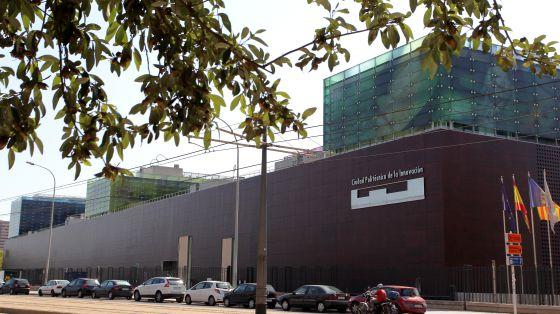 Edificios de la Universidad Politécnica de la Innovación en Valencia.
